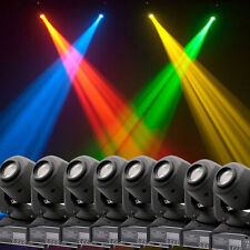 8PCS 60W RGBW LED Moving Head Stage Light DMX512 Disco DJ Party Christmas 9/11