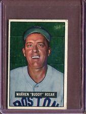 1951 Bowman 236 Buddy Rosar VG #D137438