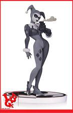 HARLEY QUINN Statue Black and White Batman Dc Comics & joker second  # NEUF #