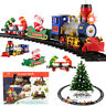 15Pcs Large Classic Christmas Train & Track Set With Sound Light Smoke Kids Gift