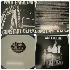 WAR EMBLEM constant defeat LP NEW on White Vinyl - saetia, off minor