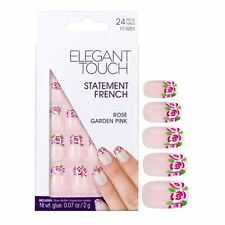 Elegant Touch False Nails - Rose Garden Pink (24 Nails)