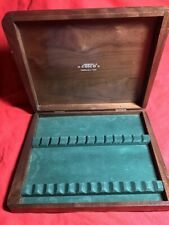 Vintage Cutco Wood Storage Case with Cushion For 12 Steak Knives Case / Box Only