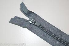 """OPEN END ZIP 40 Colours 13 Sizes 10-34"""" (25-85cm) Coat Fleece Hoody Bag Jacket"""