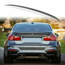 Painted Rear Trunk Lip Spoiler for BMW F30 F80 Sedan M3 Style Mineral Grey B39