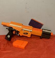 Nerf N-strike Alpha Trooper CS-6 Yellow Blaster w/clip & Darts