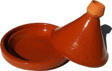Plat a tajine tagine Marocain cuisson terre cuite émaillé u 30 cm 5/6 personnes