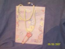 (2) 2000 Garven Small Baby Shower Gift Bags: Ann Fox, Christine Jopling Lines
