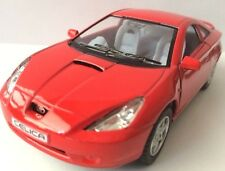 """1/34 Toyota Celica Diecast Metal Model Car 5"""" Kinsmart Collectable RED New"""