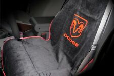 Seat Armour SA100DODB Black Seat Protector Towel Cover With Dodge Logo