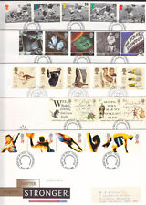 1996 COMPLETE COMMEMORATIVE  FDC YEAR SET