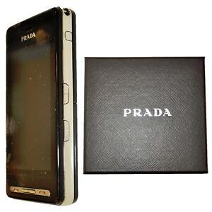 BNIB LG Prada KE850 8MB Black Factory Unlocked Designer Handset 2G GSM New