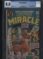 Mister Miracle #4 CGC 8.0 first appearance of GRANNY GOODNESS 1971 Jack Kirby