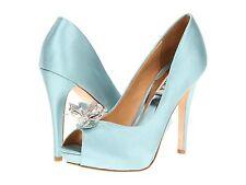 Badgley Mischka CLEONE wedding formal heels open toe pump shoes 7-10