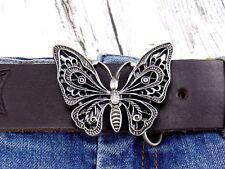 Gürtel Gürtelschnalle Schmetterling Damen Wechselschnalle Buckle für 4cm Gürtel