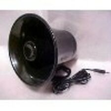 NEW PA Audio Speaker HORN Black Weatherproof 15 wat 8 Ohm CB Ham Radio-Fast Ship