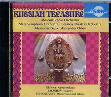 Russian Treasure - Tchaikovsky, Balakirev, Glinka (CD)