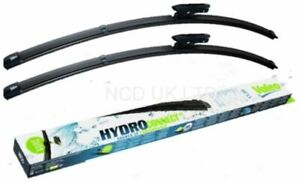 VALEO FRONT WIPER BLADE SET FOR FIAT 500 C CONVERTIBLE