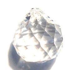 10X(Rainbow Suncatcher Hanging Crystal Ball Prism Feng Shui Drop Pendant 20mm HY