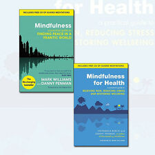 Mindfulness And Mindfulness for Health 2 Books Collection Set