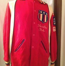 1960! Multi  Colored Houston Club Jacket  Original