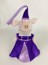2011 Spin Master Olivia Princess For A Day Pig Purple Dress Plush Stuffed Toy