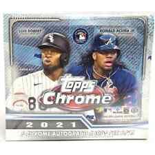 2021 Topps Chrome Baseball Base Cards 1-220 *YOU PICK*
