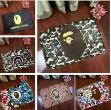 Fashion A Bathing Ape Bape Carpet Shark Camo home decoration door mat floor
