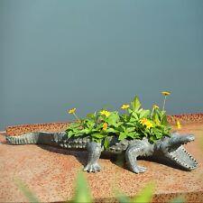 Alligator Planter Holder - Decorator Plant / Pot Décor - Cute - SPI 34399