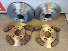 HYUNDAI I10 FRONT AND REAR BRAKE DISCS AND PADS -ALL MODELS YEAR RANGE 2007-2014