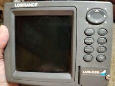 Lowrance Lms-522C Color iGps. Head unit , mount , knobs, pwr. cable & sun cover