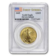 1/2 oz Gold American Eagle Coin - Random Year - MS-69 PCGS - SKU #83497