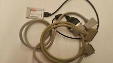 Adaptec SlimSCSI PCMCIA Fast SCSI Adapter Card 1460D + Cables