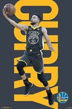 Stephen Curry DRIVE Golden State Warriors NEW 2018 NBA Basketball WALL POSTER
