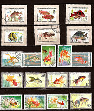 LES POISSONS -FISH  d'aquarium et de rivières  28M259A