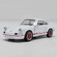 1973 Porsche 911 Carrera RS 1/36 Model Car Diecast Toy Vehicle Kids Pull Back