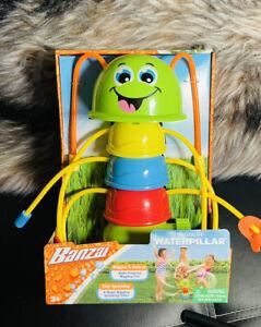 New Wigglin' Waterpillar with 8 Sprinkling Water Wiggers 3+ Free Shipping