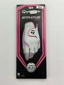 TaylorMade Stratus Ladies Golf Glove Size Large for RIGHT Handed Golfer