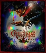 Disney A Christmas Carol Premium Package,BLU RAY3D,Collectors Box,Excellent cond