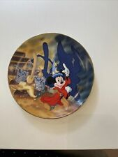 Disney Plate Celebrating 50 Years of Fantasia 1940-1990