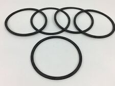 """5 HOLLEY QFT AED DEMON CARBURETOR 4150 4160 AIR CLEANER GASKET .125"""" THICKNESS"""
