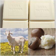 Soap Shea Butter & Goats Milk All Natural 4 X 150g Bulk - Goat Milk Soaps -