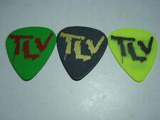 THE LAST VEGAS set of 3 Guitar Picks from their 2014 European Tour  the nastys