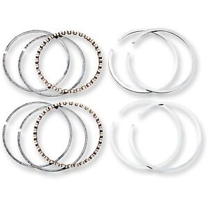 Hastings - 2M6127030 - Moly Ring Set (1340cc), .030in. Oversize Harley-Davidson