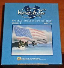6 VHS TAPES - VICTORY AT SEA - BOX SET EPISODES 1-26 - GREAT HISTORY!!