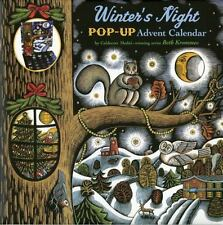 Winter's Night Pop-Up Advent Calendar  VeryGood
