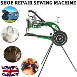 UK Hand Cobbler Shoe Repair Machine Cotton Nylon Line Leather Sewing Machine