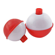 """4 PACK  SOUTH BEND FISHING FLOATS 2.5"""" PUSH BUTTON BOBBERS (8 FLOATS TOTAL)"""