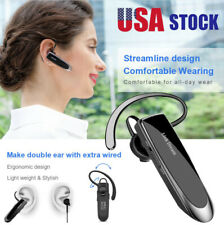 Link Dream Bluetooth Earpiece for Cell Phones Wireless V5.0 Hands Free Black