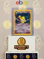 Dark Hypno 9/82 LP/NM Near Mint Team Rocket Holofoil Rare Holo Pokemon Card